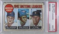 1967 AL Batting Leaders (Carl Yastrzemski, Frank Robinson, Al Kaline) [PSA&nbsp…