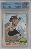 Brooks Robinson [JSA Certified Encased by BVG]