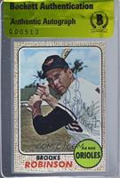 Brooks Robinson [BAS Certified BGS Encased]