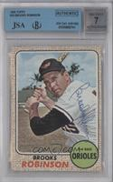 Brooks Robinson [JSA Certified Encased by BGS]