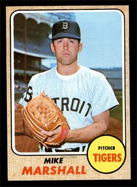 1968 Topps - [Base] #201 - Mike Marshall [EXMT]