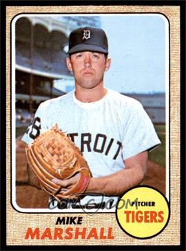 1968 Topps - [Base] #201 - Mike Marshall [EX MT]