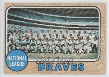 1968 Topps - [Base] #221 - Atlanta Braves Team