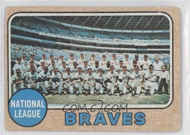 1968 Topps - [Base] #221 - Atlanta Braves Team [Good to VG‑EX]