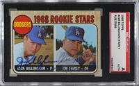 Dodgers Rookie Stars (Jack Billingham, Jim Fairey) [SGCAuthenticAut…