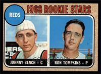 Reds Rookie Stars (Johnny Bench, Ron Tompkins) (Error
