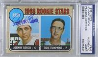 1968 Rookie Stars - Johnny Bench, Ron Tompkins (