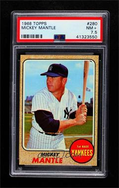 1968 Topps - [Base] #280 - Mickey Mantle [PSA 7.5 NM+]