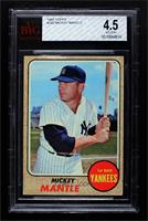 Mickey Mantle [BVG 4.5 VG‑EX+]