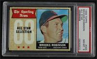 The Sporting News All Star Selection - Brooks Robinson [PSA 8 NM̴…