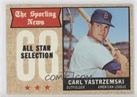 The Sporting News All Star Selection - Carl Yastrzemski