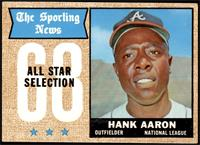 The Sporting News All Star Selection - Hank Aaron [VGEX+]