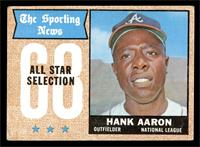 The Sporting News All Star Selection - Hank Aaron [VG]