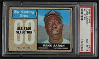 The Sporting News All Star Selection - Hank Aaron [PSA 8 NM‑MT]