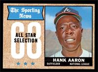 The Sporting News All Star Selection - Hank Aaron [EX]