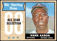 The Sporting News All Star Selection - Hank Aaron [GOOD]
