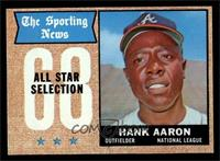 The Sporting News All Star Selection - Hank Aaron [NM]