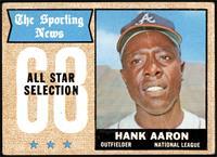 The Sporting News All Star Selection - Hank Aaron [FAIR]