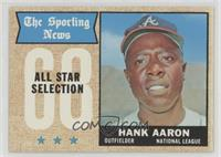 The Sporting News All Star Selection - Hank Aaron