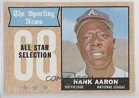 The Sporting News All Star Selection - Hank Aaron [Poor to Fair]