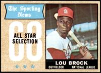 The Sporting News All Star Selection - Lou Brock [NM]