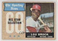 The Sporting News All Star Selection - Lou Brock