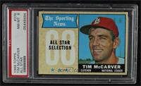The Sporting News All Star Selection - Tim McCarver [PSA8NM‑M…