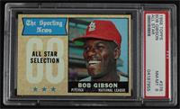The Sporting News All Star Selection - Bob Gibson [PSA8NM‑MT]
