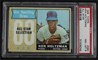 The Sporting News All Star Selection - Ken Holtzman [PSA8NM‑M…