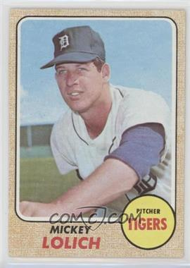 1968 Topps - [Base] #414 - Mickey Lolich [Good to VG‑EX]