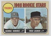 1968 Rookie Stars - Fred Lasher, George Korince
