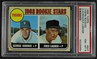 1968 Rookie Stars - Fred Lasher, George Korince [PSA 8 NM‑MT]