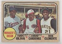 High # - Manager's Dream (Tony Oliva, Chico Cardenas, Roberto Clemente) [Poor&n…