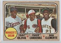 High # - Manager's Dream (Tony Oliva, Chico Cardenas, Roberto Clemente) [Poor]