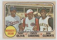 High # - Manager's Dream (Tony Oliva, Chico Cardenas, Roberto Clemente)