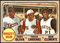 High # - Manager's Dream (Tony Oliva, Chico Cardenas, Roberto Clemente) [NM&nbs…