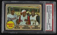 High # - Manager's Dream (Tony Oliva, Chico Cardenas, Roberto Clemente) [PSA&nb…