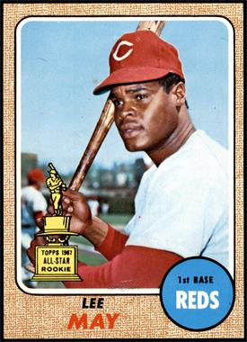 1968 Topps - [Base] #487 - High # - Lee May [EXMT]