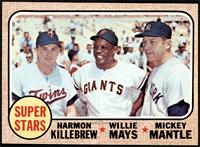 High # - Super Stars (Willie Mays, Mickey Mantle, Harmon Killebrew) [NM]