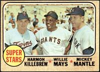 High # - Super Stars (Willie Mays, Mickey Mantle, Harmon Killebrew) [VG]