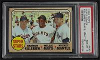 High # - Super Stars (Willie Mays, Mickey Mantle, Harmon Killebrew) [PSA 8…