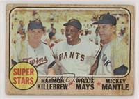 High # - Super Stars (Willie Mays, Mickey Mantle, Harmon Killebrew) [Poor…