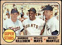 High # - Super Stars (Willie Mays, Mickey Mantle, Harmon Killebrew) [FAIR]