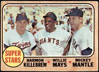 High # - Super Stars (Willie Mays, Mickey Mantle, Harmon Killebrew) [GOOD]