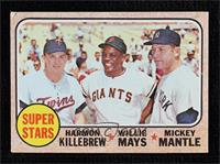 High # - Super Stars (Willie Mays, Mickey Mantle, Harmon Killebrew) [Very …
