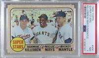 High # - Super Stars (Willie Mays, Mickey Mantle, Harmon Killebrew) [PSA 7…
