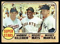 Super Stars (Willie Mays, Mickey Mantle, Harmon Killebrew) [GOOD]