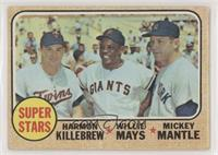 Super Stars (Willie Mays, Mickey Mantle, Harmon Killebrew) [Good to V…