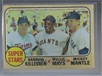 Super Stars (Willie Mays, Mickey Mantle, Harmon Killebrew) [Poor to F…