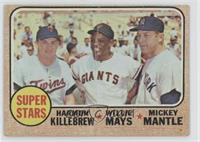 Super Stars (Willie Mays, Mickey Mantle, Harmon Killebrew) [Poor]